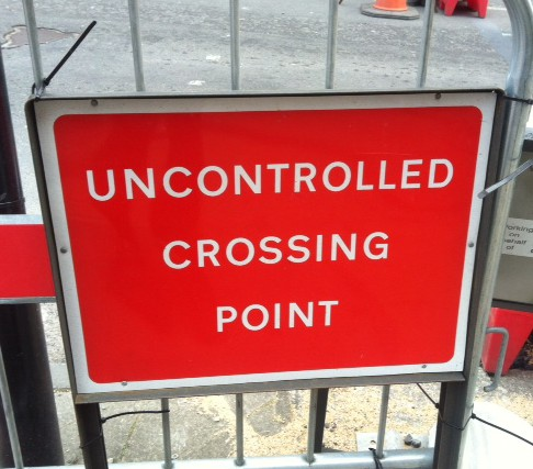 uncontrolled crossing