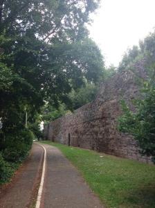 Roman town walls
