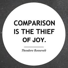 comparison thief of joy quote