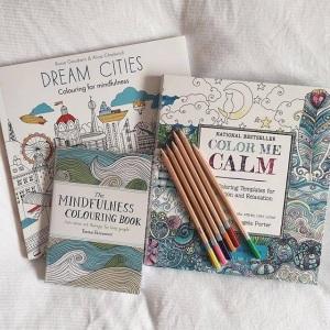 mindfulness colouring books