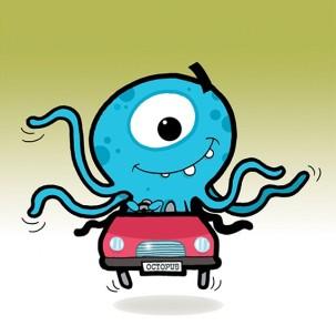 octopus_in_car