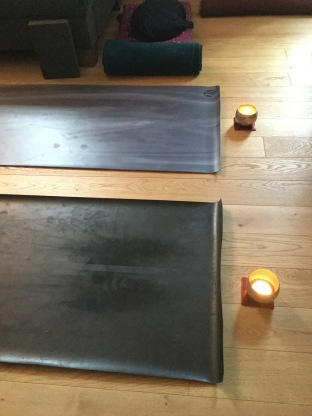 two mats and candles.JPG